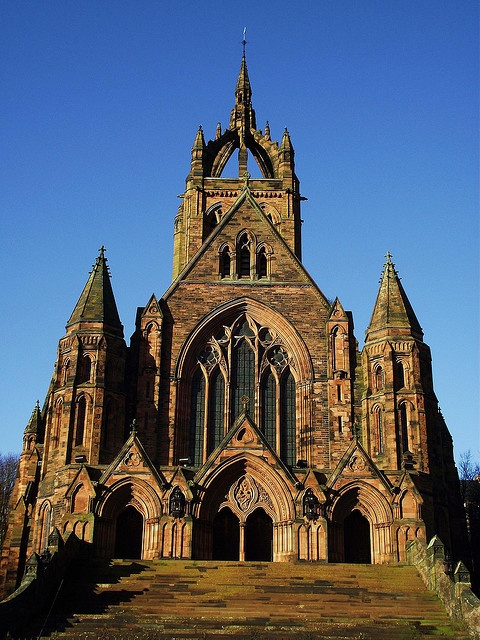 Paisley / Scotland  Thomas Coats Memorial Church one street from my flat
