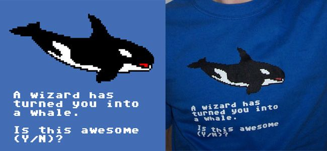 TopatoCo: A Wizard Has Turned You Into a Whale Shirt $18.50