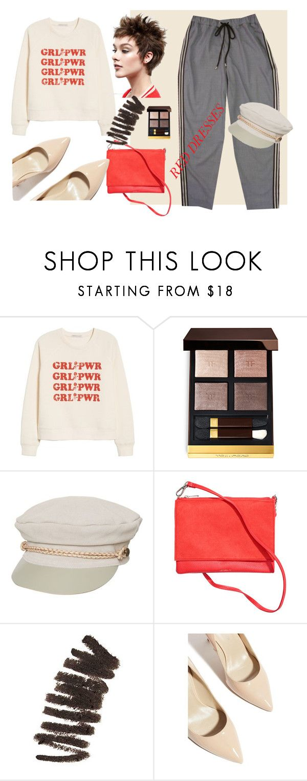 Без названия #31 by ankaminackowa on Polyvore featuring мода, Rebecca Minkoff, Karen Millen, Brixton, Bobbi Brown Cosmetics and Tom Ford