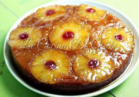Torta de Piña Volteada | La Cocina de Gisele