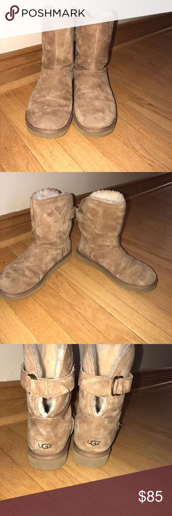 Remora Buckle Chestnut Ugg Worn a few times, no sign of damage. Without a box UGG Shoes Winter & Rain Boots