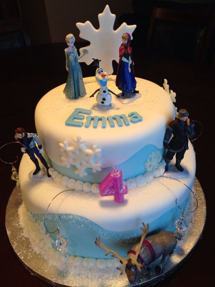 frozen the movie cakes   Disney Frozen Birthday Cake   Birthday Cakes