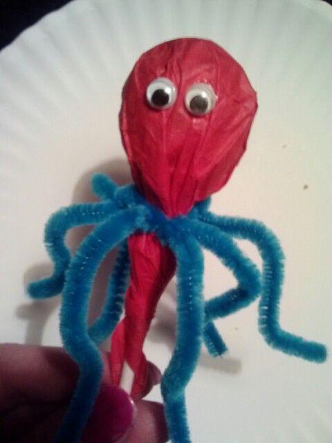 best 25  octopus crafts ideas on pinterest