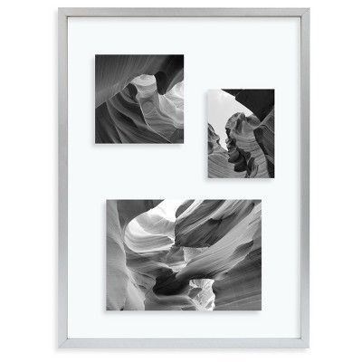 Metal Float Frame - Silver - 11x15 Glass for 8x10 Photo - Room Essentials