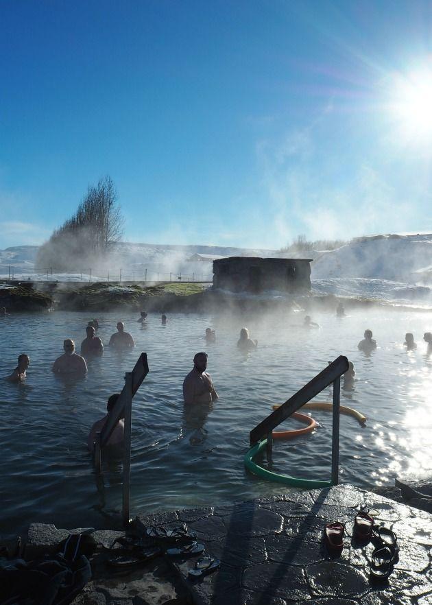 Secret Lagoon, Iceland, 2017
