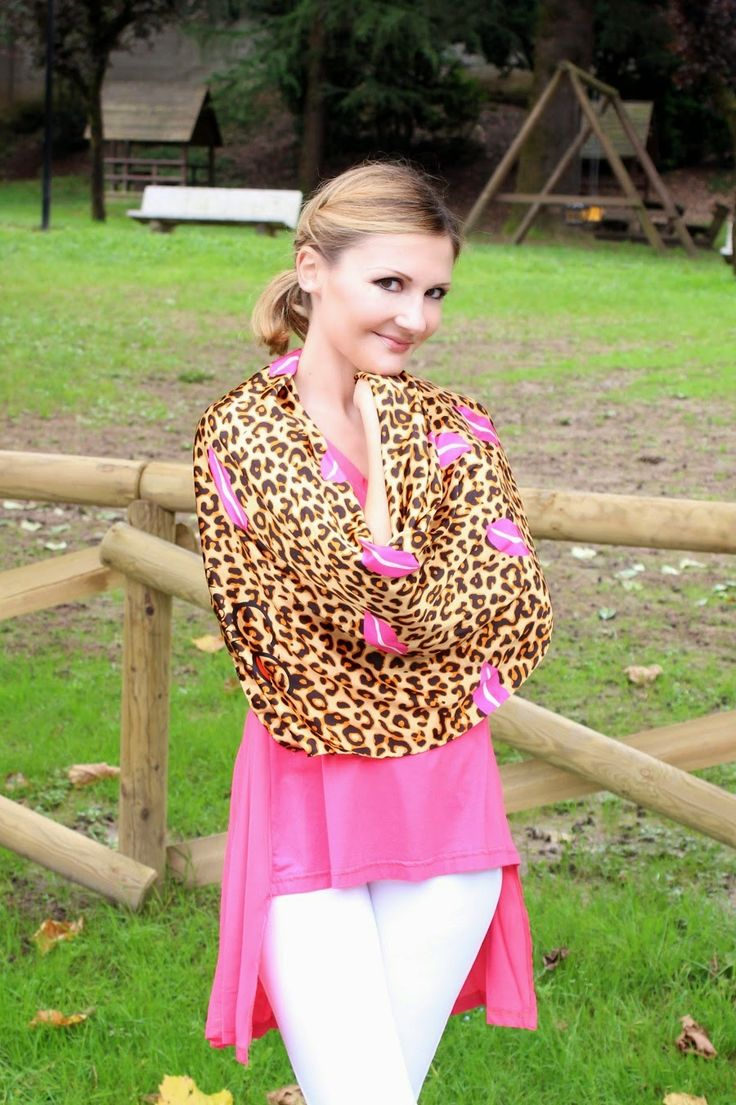 Coco et La vie en rose: OOTD - Leopard print and pink kisses / Outfit del giorno - Stampa leopardata e baci rosa