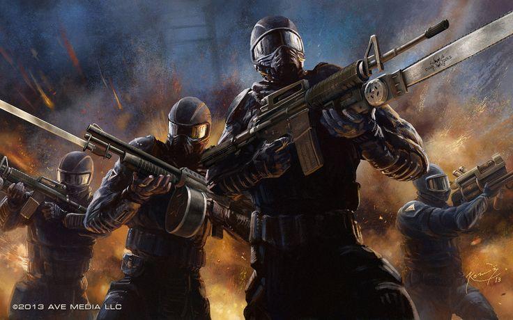 Concept Art for Elite vs Freedom