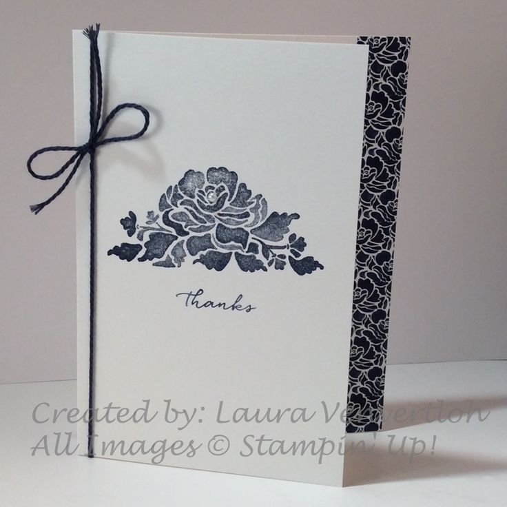 The Floral Boutique Suite in the new Stampin' Up! catalog stopped me in my tracks! There is so many possibilities with the Floral Phrases stamp set by itself! But then you pair it with the …