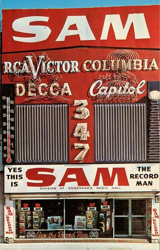 Sam the Record Man #Toronto ON