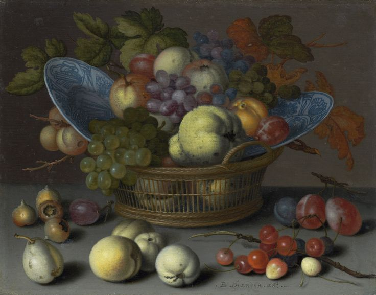 Balthasar van der Ast, Basket of Fruits, ca. 1622, National Gallery of Art, Washington, D.C.