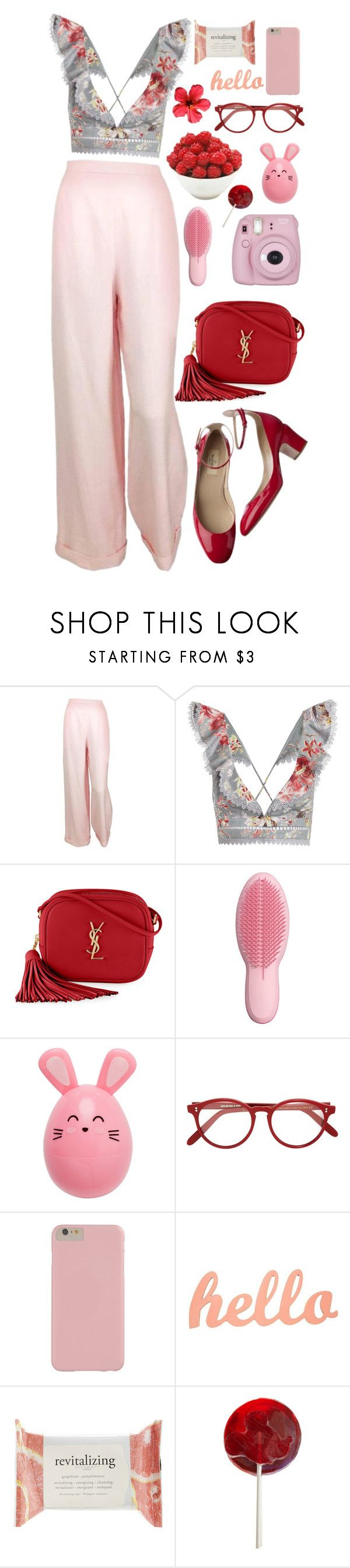 """""""Sin título #1777"""" by mrs-malfoy ❤ liked on Polyvore featuring Chanel, Valentino, Zimmermann, Yves Saint Laurent, Fujifilm, Tangle Teezer, Cutler and Gross, Forever 21, Disney and valentino"""
