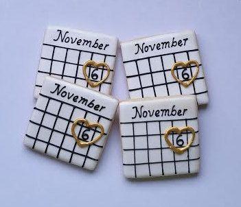 Ahorre la fecha cookies cookies de compromiso 1 docena por Scookies