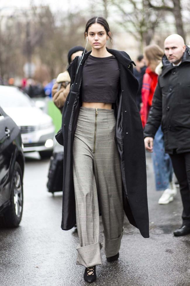 Paris street style haute couture spring 2018: photos - Vogue Australia