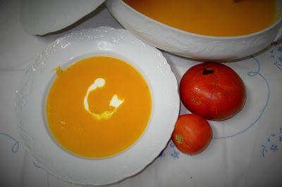 Amigos na Cozinha:Creme de tomate