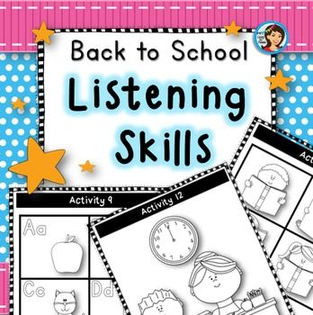 how to develop listening skills in students