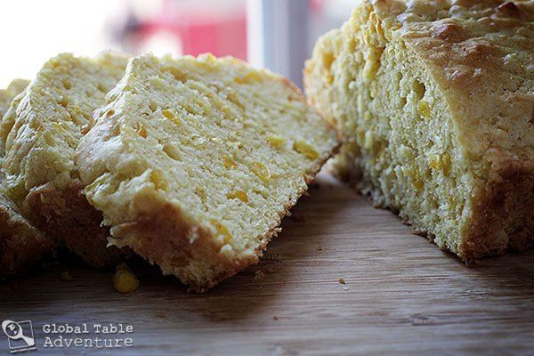 The next time you walk into your kitchen, walk into the warm, sweet scent of mealie bread. Let a smile curl along your lips as you taste that first, moist bite with your imagination. Then take a mo…