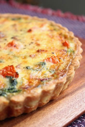 Sugar & Everything Nice: Spinach Quiche