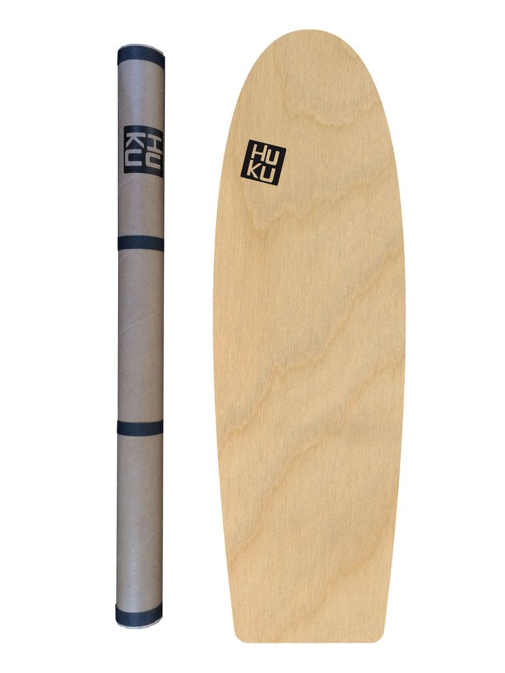 The HuKu Nalu balanceboard, perfect for all boardsports training! Get yours at www.hukuboards.com
