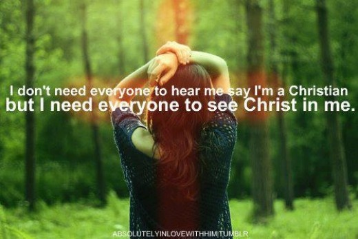 col 1:27, I need to have a better relationship with Christ for them to see him in me.