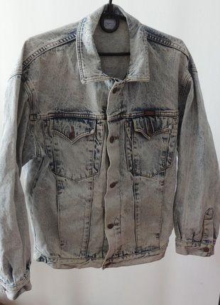 Kup mój przedmiot na #vintedpl http://www.vinted.pl/odziez-meska/kurtki-jeansowe/13677981-meska-dzinsowa-jeansowa-kurtka-wrangler-jak-nowa-m-ka-denim-classic-kultowa