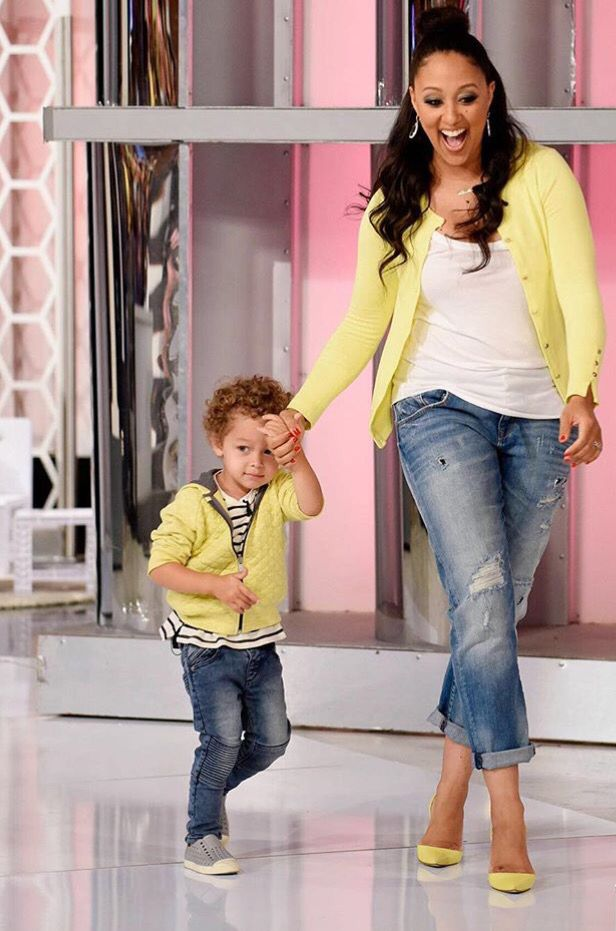 Mommy and son matching outfits