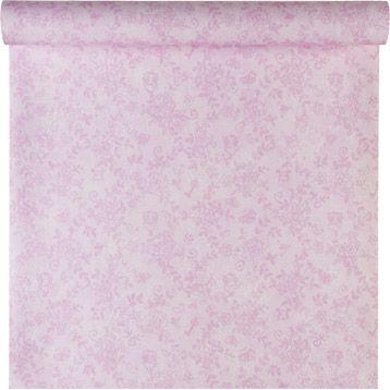 Papier peint sur intissé Rose, rose, larg. 0.53 m | Leroy Merlin