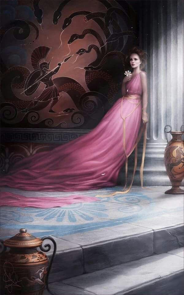 Megara Art by Mélanie Delon