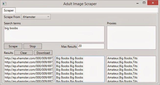 Download free ubots: Adult Image Scraper