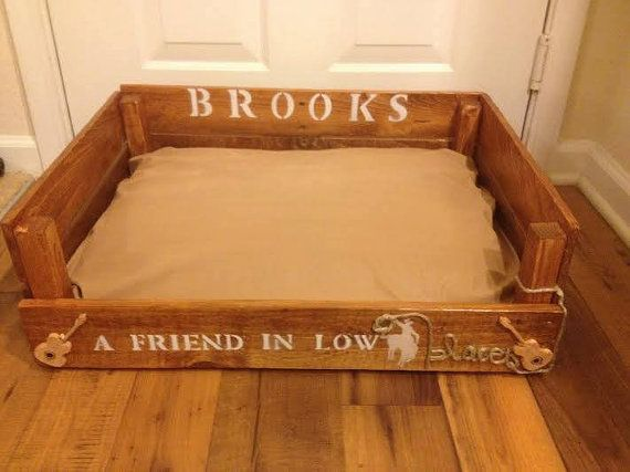 Wood Pallet DULUXE Dog Bed - Handcrafted - Custom for your Pet - Small Medium Large or Extra Large Dog Beds - Reclaimed Wood - Rustic
