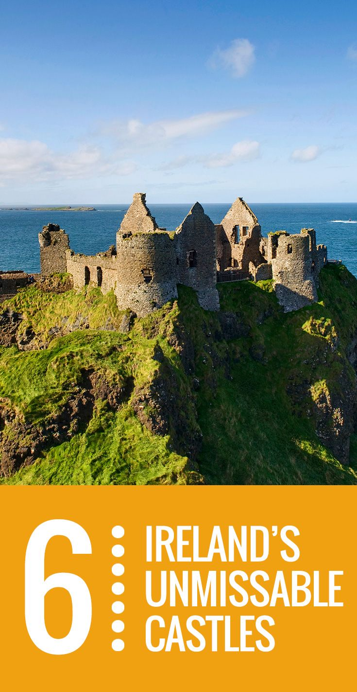 Did you ever dream you could literally walk in the footsteps of kings and queens, pirates and banshees? Legends of enchantment, picturesque views and scientific genius all adorn Ireland's castles, where you can stroll in the sun, snap a picture – or even spend the night!