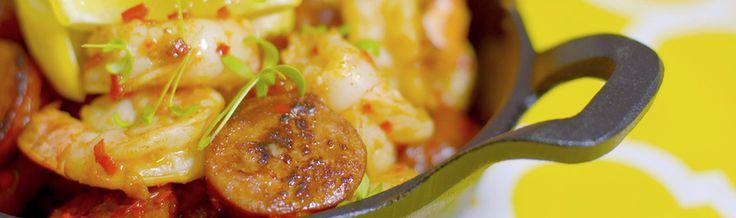Recipe for Peri Peri Prawns and Chorizo