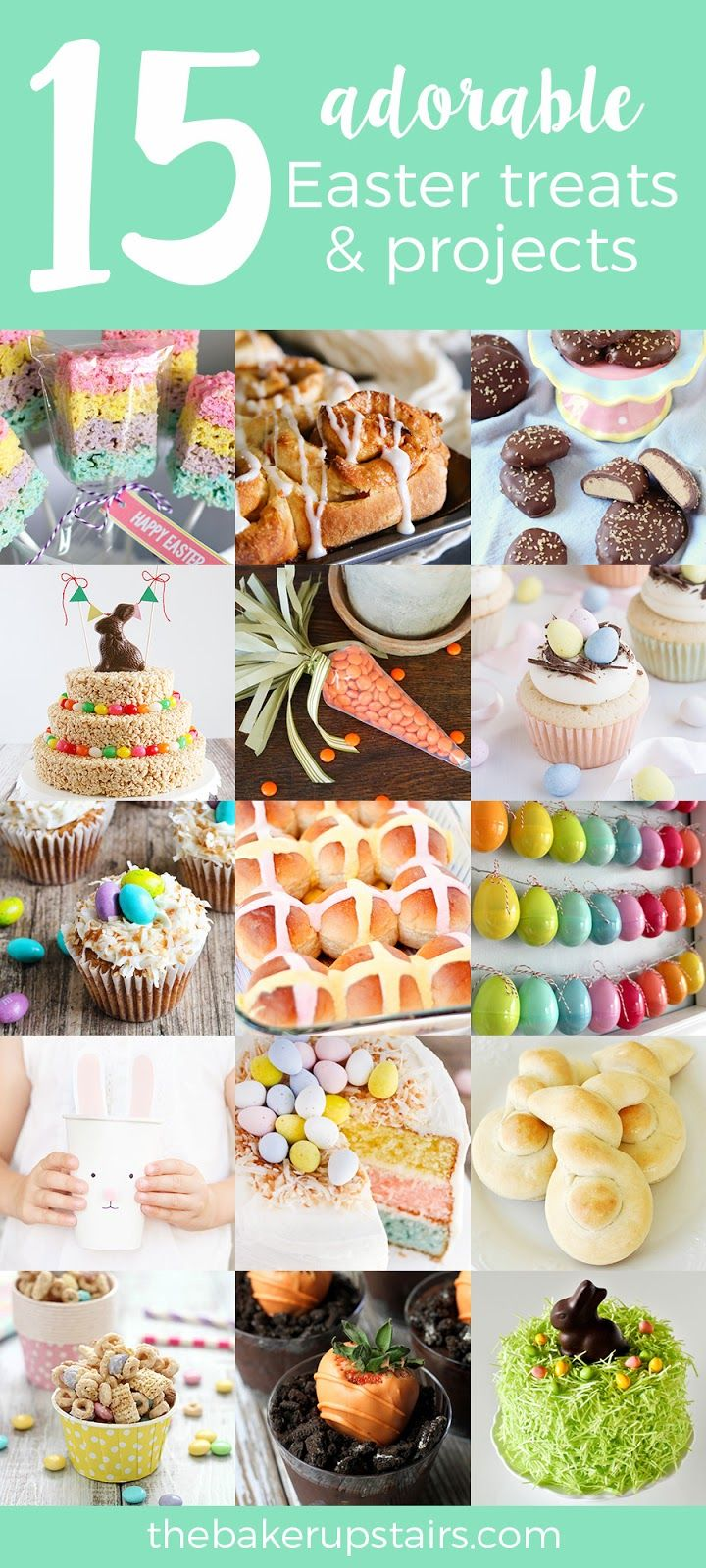 15 Adorable Easter Treats and Projects 608