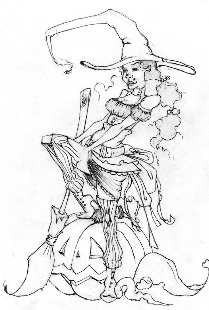 Hocus pocus halloween witch pages coloring pages for Witch color pages