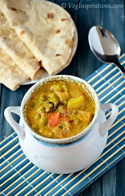 how to make veg kurma