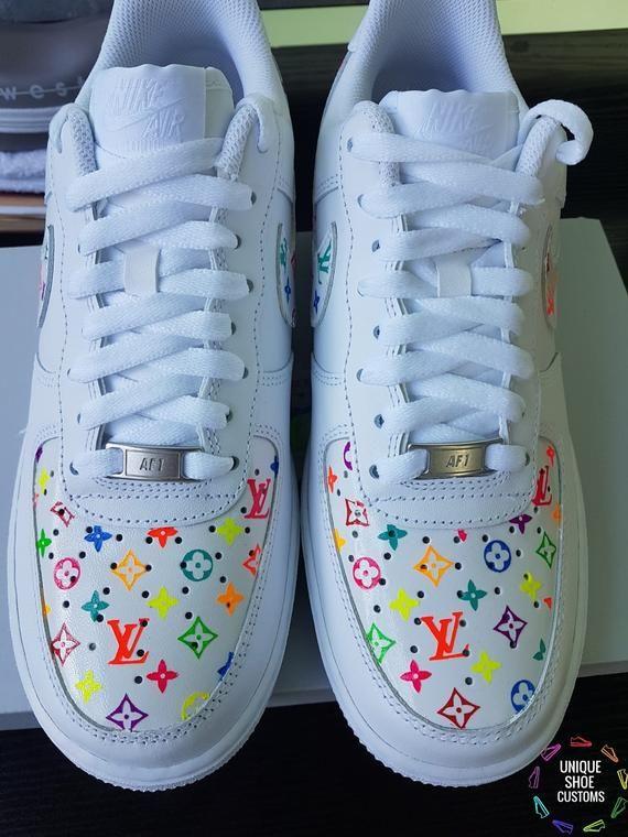 louis vuitton rainbow sneakers