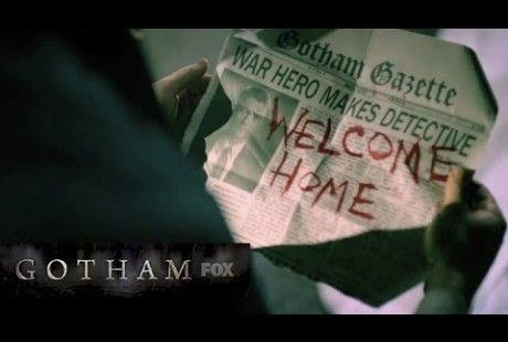 """WELCOME HOME, Detective Gordon: WATCH the new 'GOTHAM' trailer """"The Good. The Bad. The Beginning."""" for a look at villains the Penguin, Riddler, Catwoman:"""