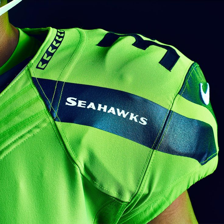 Introducing the Seahawks 2016 NFL Color Rush uniforms: Action Green.  As powerful, enduring and energizing as the brightest greens of our region.