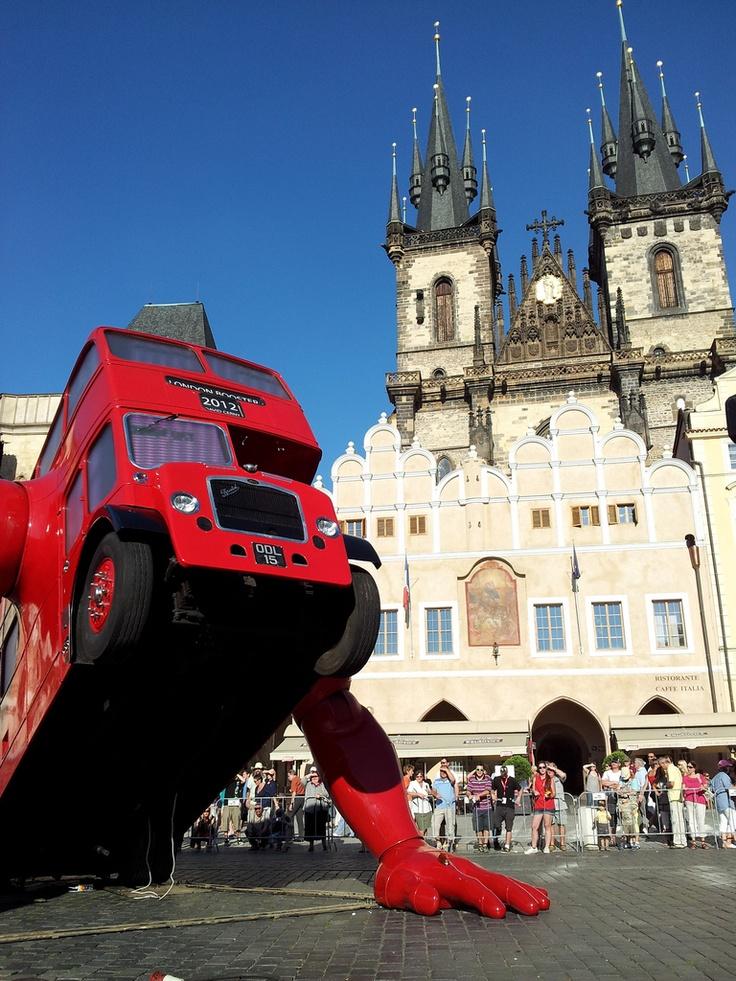 London Booster in Prague