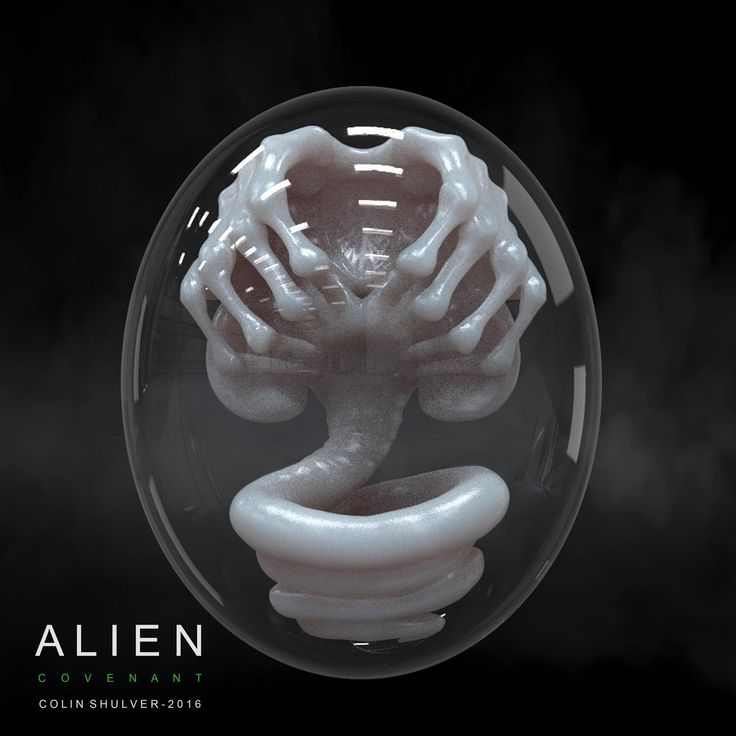 Alien: Covenant Protomorph Concept Art by Colin Shulver! - Alien: Covenant Movie News