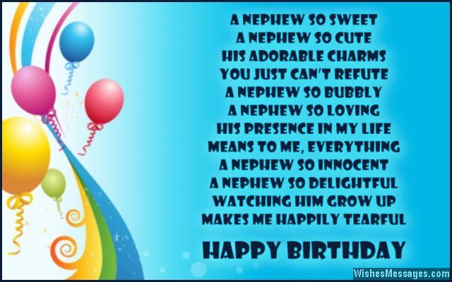 60 best images about nephew on Pinterest | Birthday wishes ...