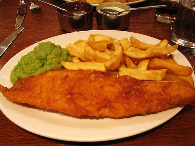 Golden Hind famous fish & chips