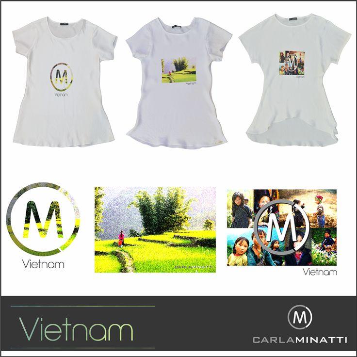 Conoce nuestra nueva línea de blusas en seda estampadas inspiradas en Vietnam.