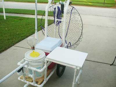 Best 25 fishing cart ideas on pinterest beach fishing for Homemade fishing cart