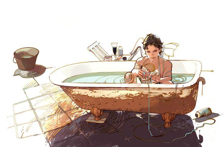 Banheira de Agata, Greg Tocchini