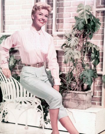 Doris Day - apparently this is who i look like today... compliment taken!