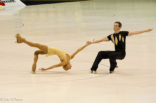 Artistic roller skating- pairs routine,Artistic roller skating inspirations for Sk8 Gr8 Designs