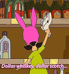 "That time you went too hard at happy hour - Community Post: 25 Times You Were Actually Louise Belcher From ""Bob's Burgers""..."