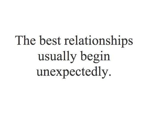 Very unexpectedly