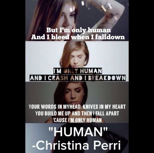 Christina Perri new song Human, lyrics | Quotes ...