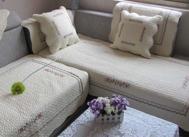 Чехол на угловой диван 5